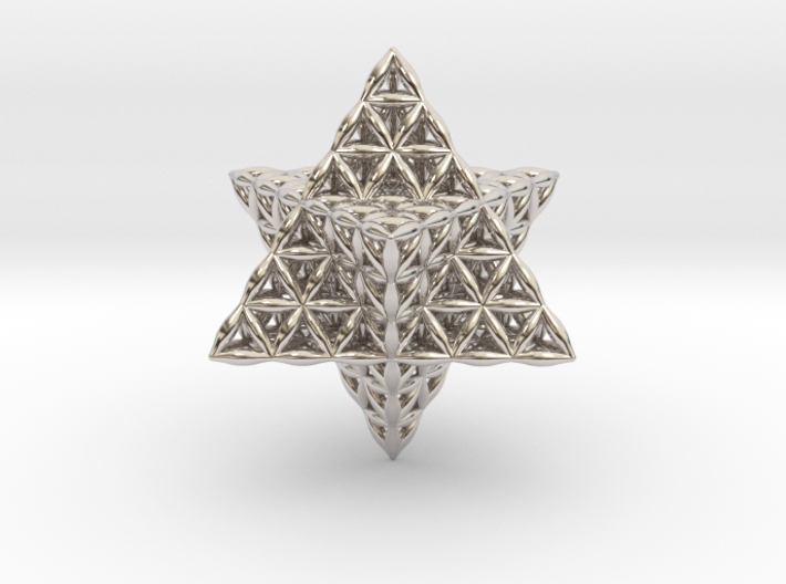 Flower Of Life Tantric Star 3d printed