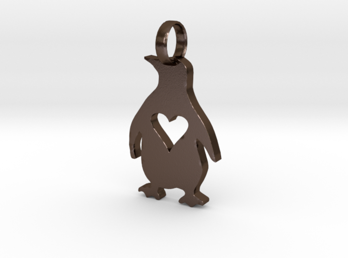 Penguin Love 3d printed