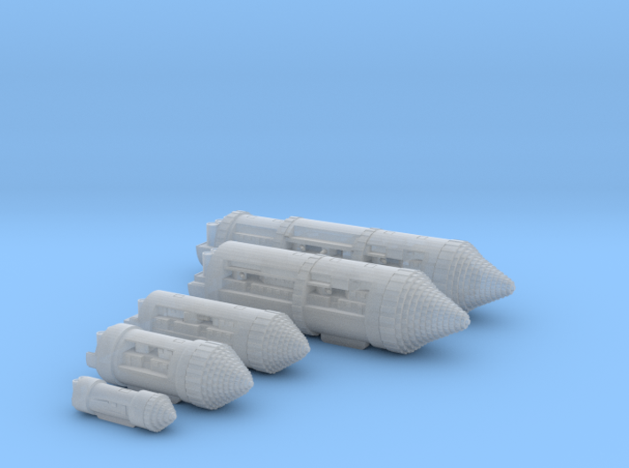 German Terranef Collection 3d printed