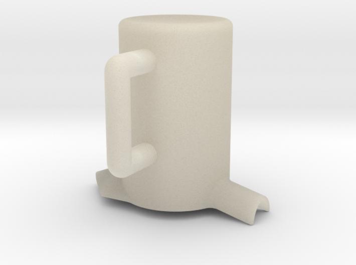 Times merge Cup 3d printed