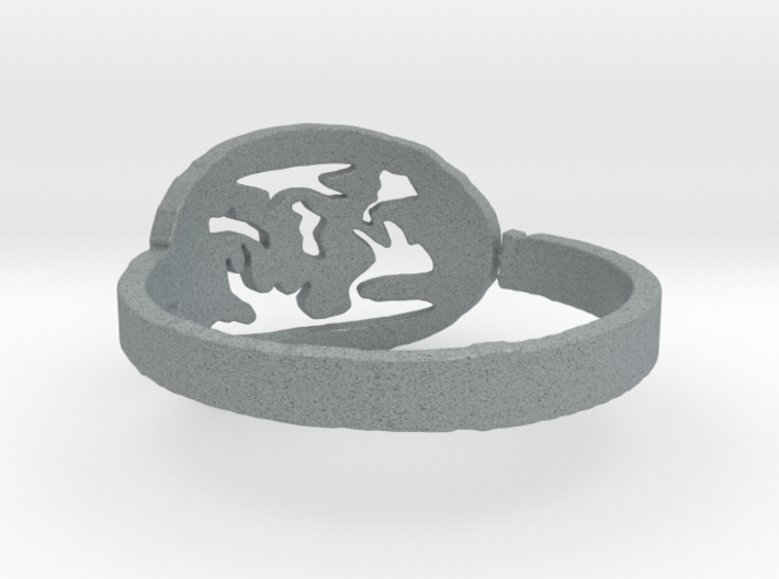 Fire Ring Size 6.5 3d printed