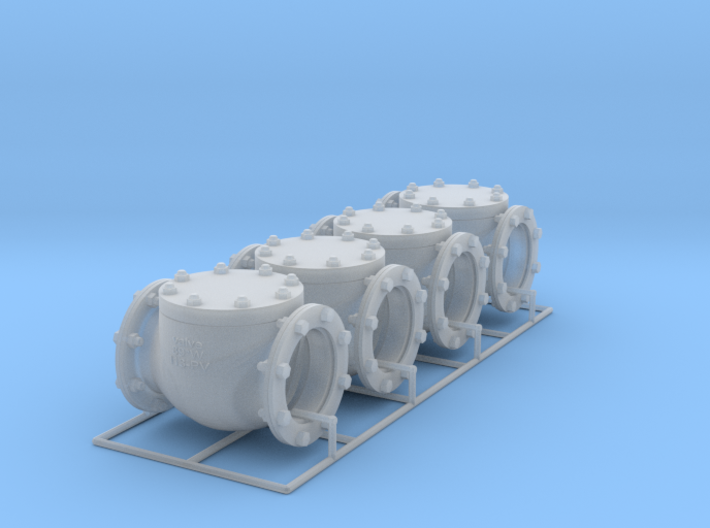Pipeline Accessory System Valve3 - 9,5mm 3d printed