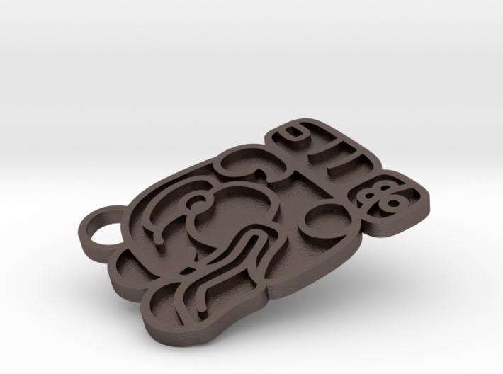 Maya Keychain - Robert 3d printed