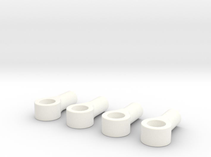 045015-01 2.4mm threaded eyelet with 4mm hole 3d printed