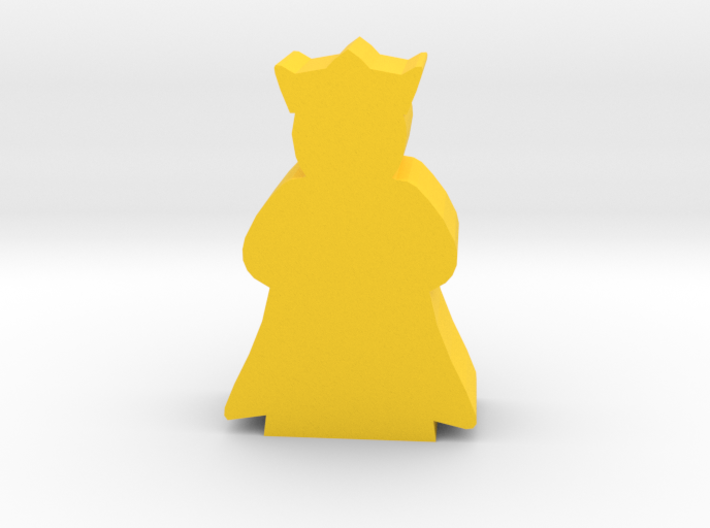 Game Piece, Queen with cape 3d printed