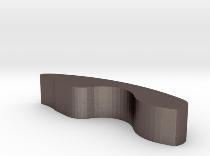 鯨魚尾筷架.STL 3d printed
