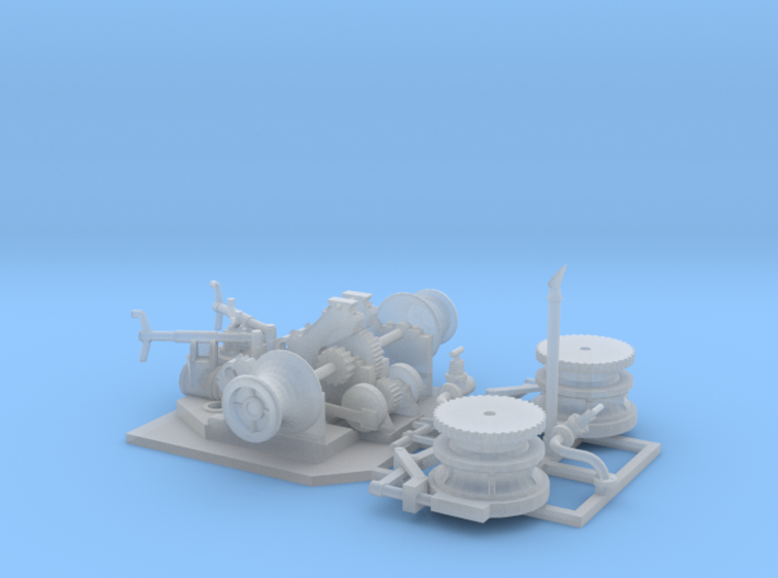 Anchor Winch 3d printed