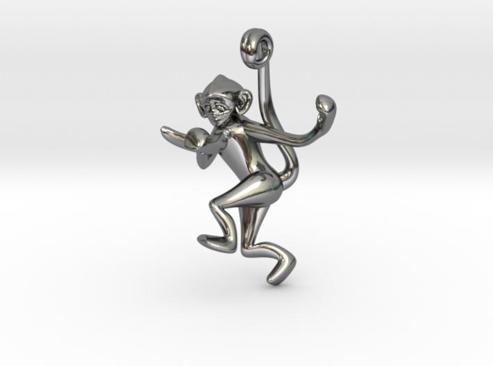 3D-Monkeys 213 3d printed