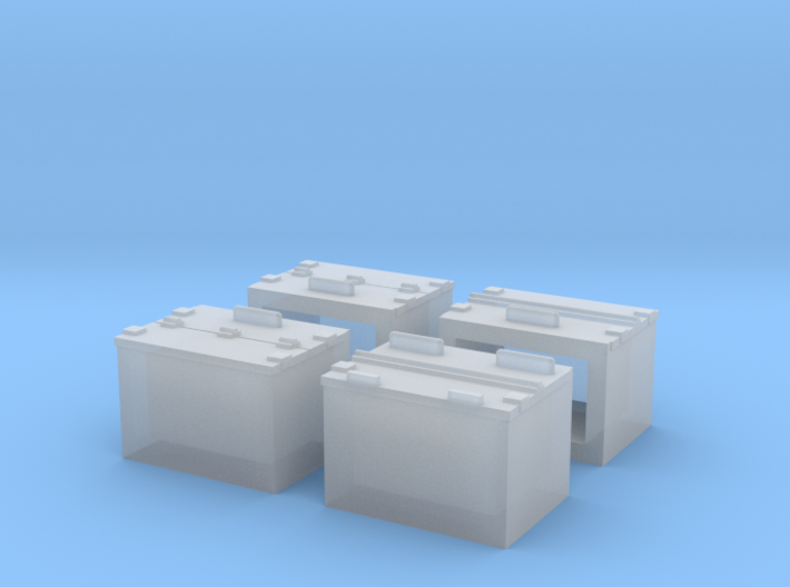 S MP Battery Box 3d printed