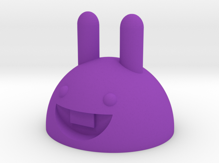 Rubber band bunny 3d printed