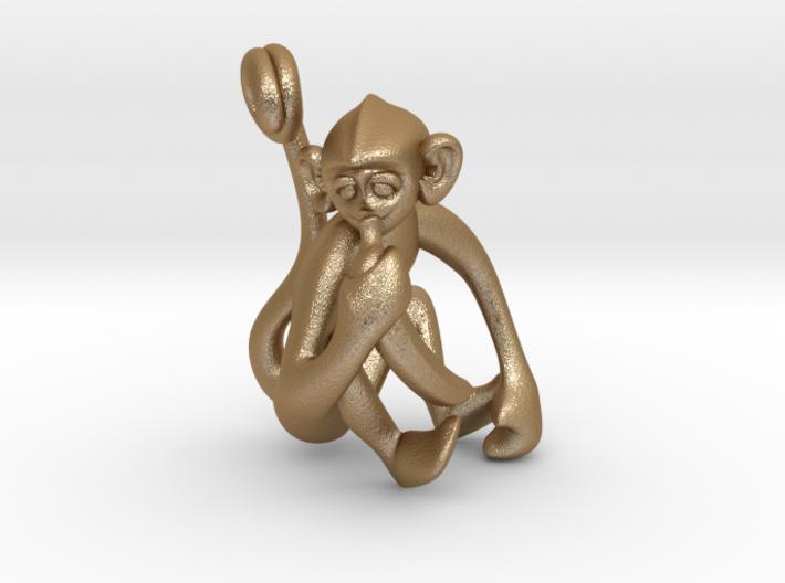 3D-Monkeys 316 3d printed