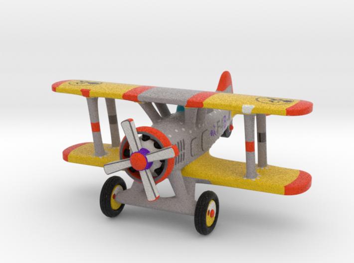 BiPlane 3d printed