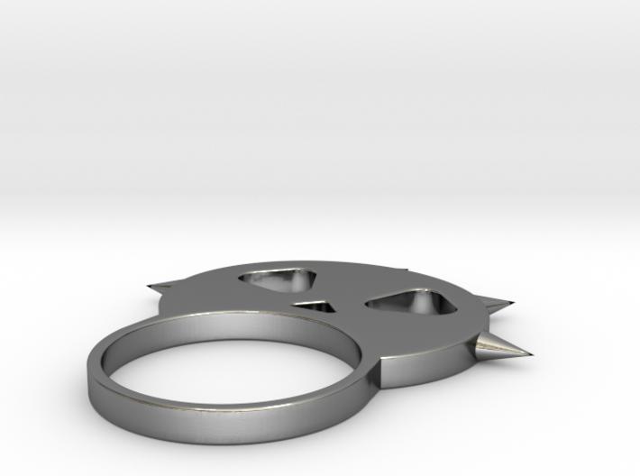 骷髏戒指.stl 3d printed