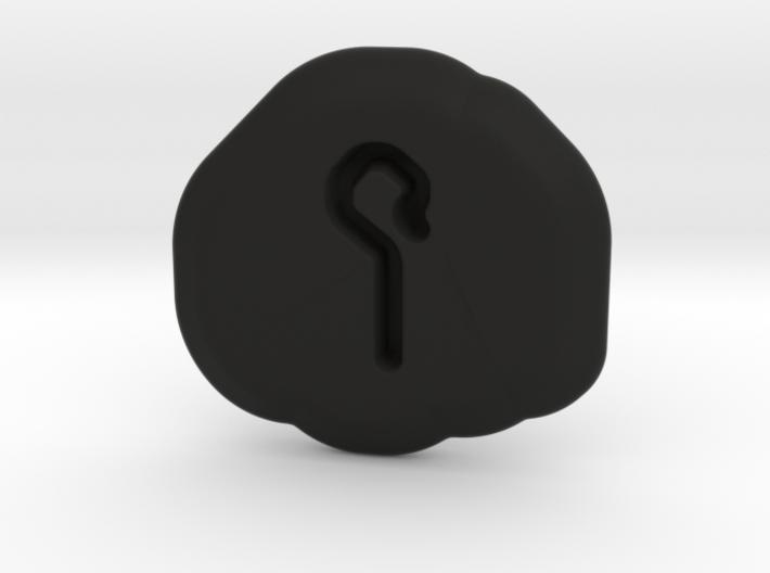 Humility Runestone 3d printed