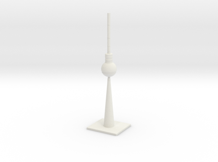 Berlin TV Tower 3d printed