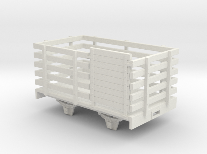 On16.5 W&L style sheep wagon 3d printed
