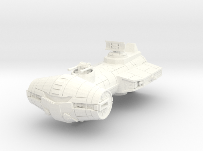 CR-92 Assassin Class Corvette part (1 of 2) 3d printed