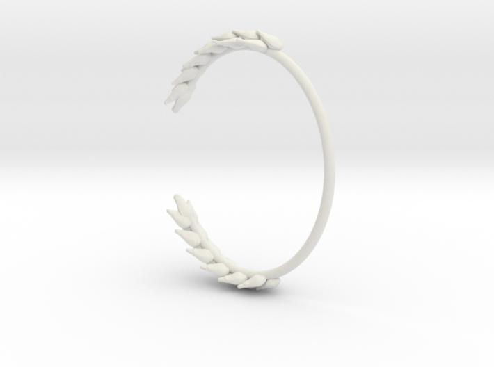 Wheat Bracelet 3d printed