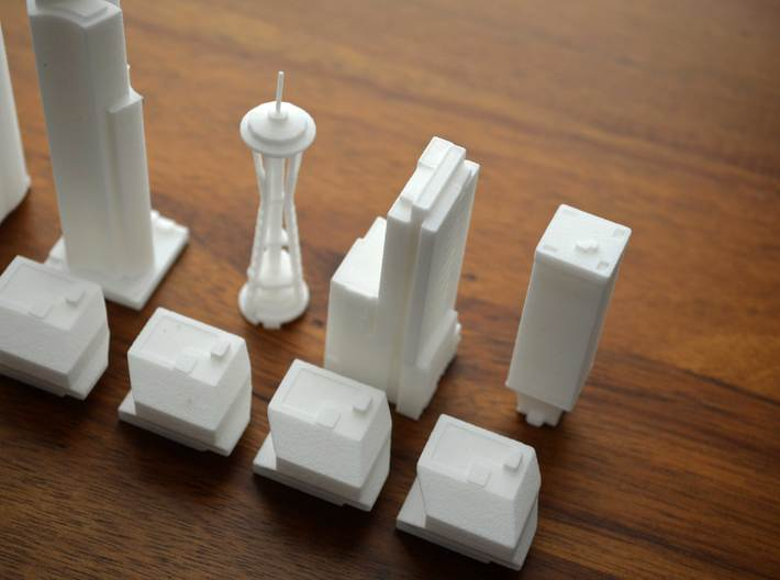 Seattle Knight Building  3d printed