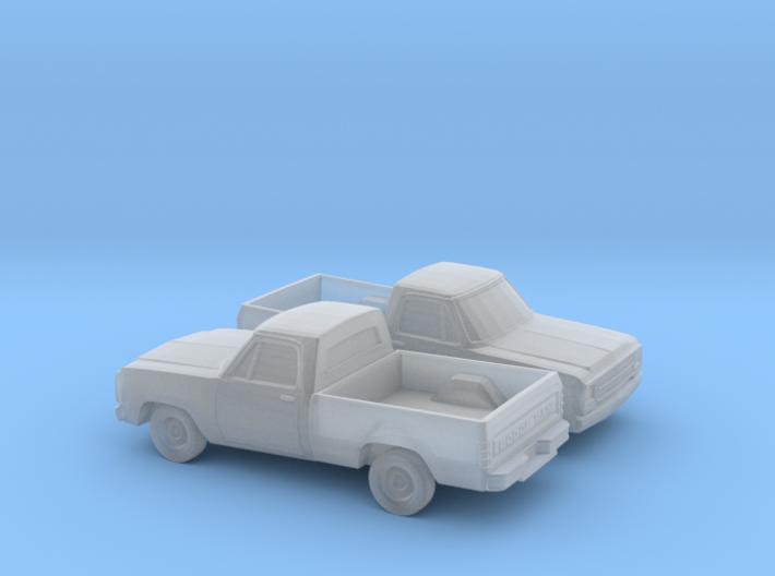 1/160 2X 1972-80 Dodge D-100 3d printed