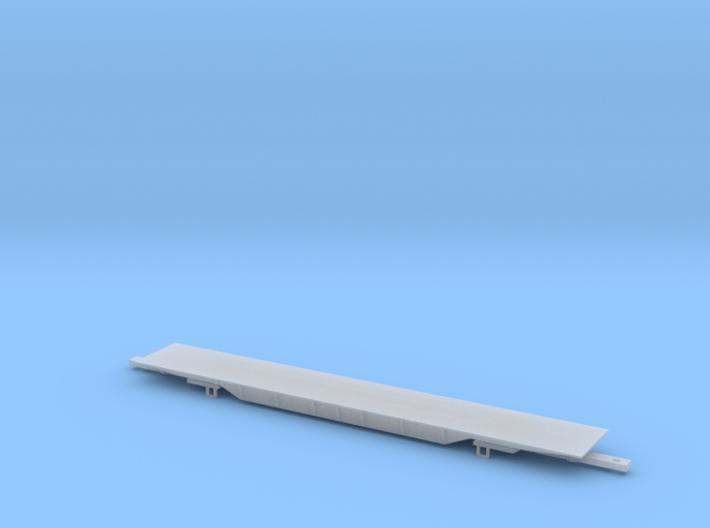QTTX 8-Axle Loco Transport Flat 3d printed