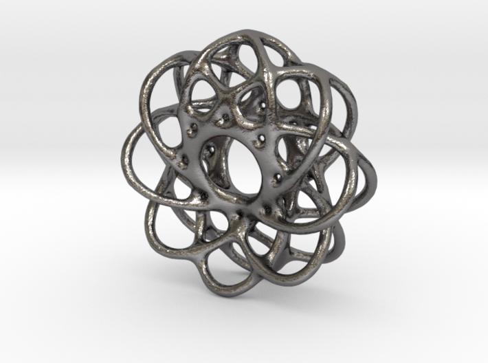 Spiro Pendant No.1 3d printed