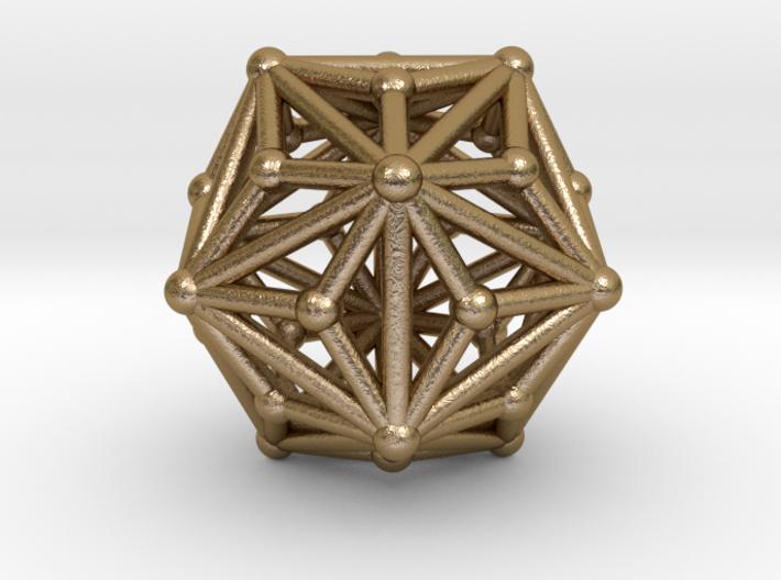 0335 Triakis Icosahedron V&E (a=1cm) #002 3d printed