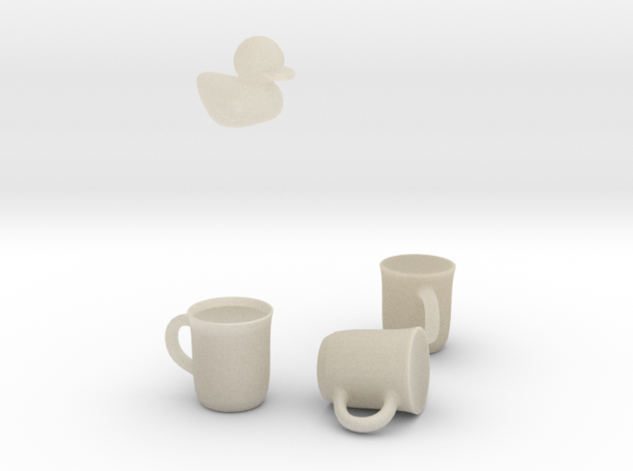 easy cup 3d printed