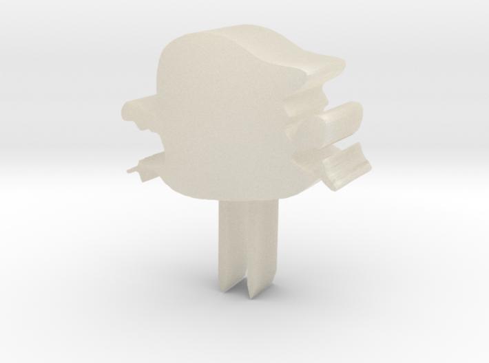 小怪獸牙籤 3d printed