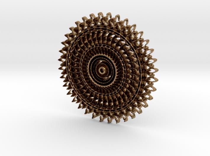 Floral Pendant #4 3d printed