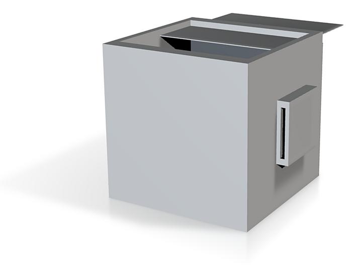 Creative modular bookcase 3d printed