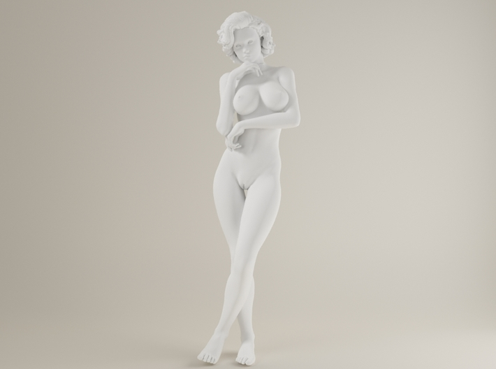 1:32 Short Haired Girl-012 3d printed