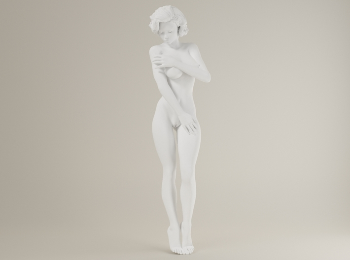 1:32 Short Haired Girl-021 3d printed
