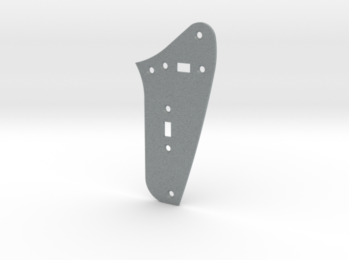 LH Jag Rhythm Circuit Plate - 2 On/Off switches 3d printed