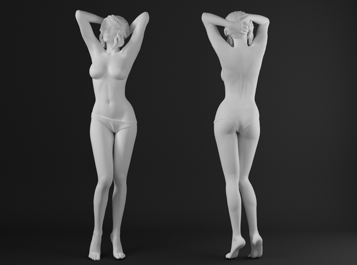 Panties girl 002 scale 1/32 Passed 3d printed