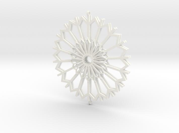 Dandelion Earrings 3d printed