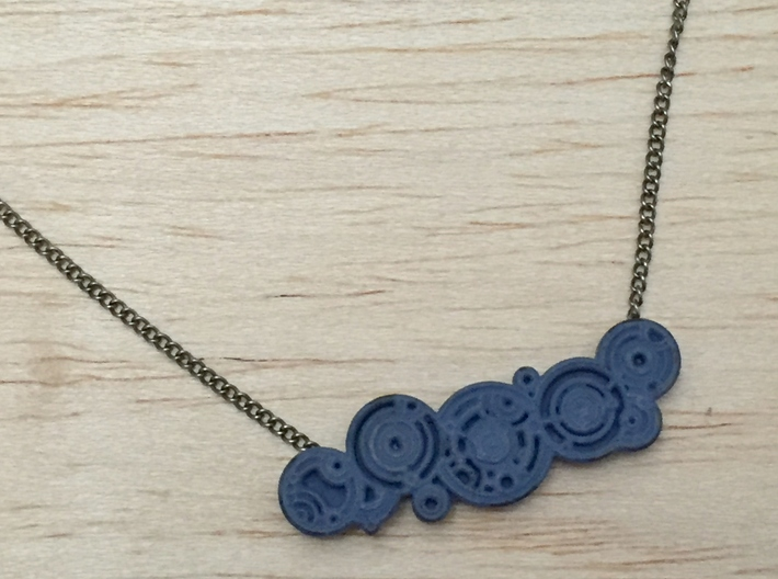 Doctor's Name Pendant 3d printed