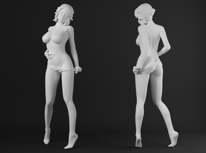 Panties girl 015 scale 1/20 Passed 3d printed