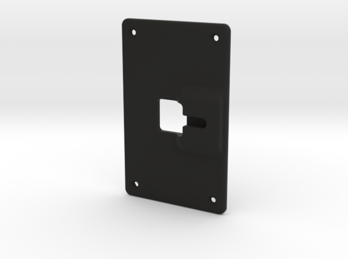 Backplate Screwmount Extra0.8mm 3d printed