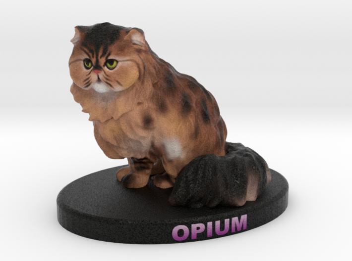 Custom Cat Figurine - Opium 3d printed