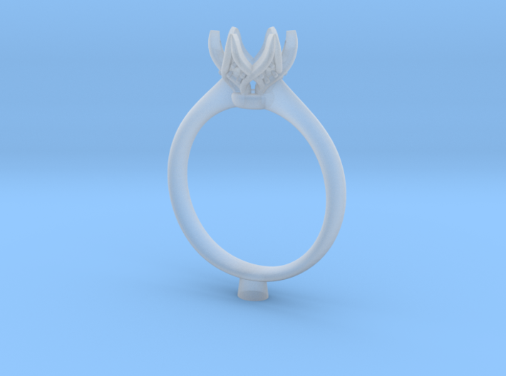 JT3-Engagement Ring 3d printed