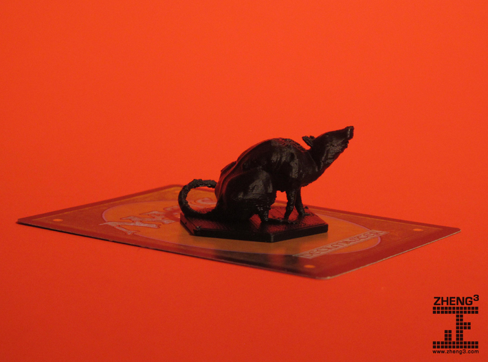 MTG Rat Token: Adam 3d printed