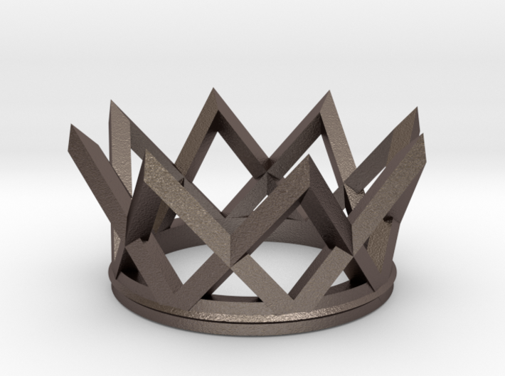 Watch The Crown 3d printed