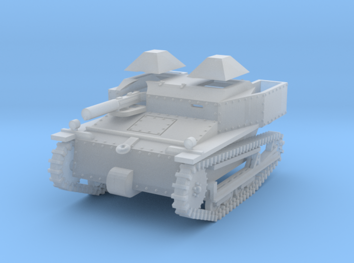 PV80D Carden Loyd Mk VI - Separate Hatches (1/72) 3d printed
