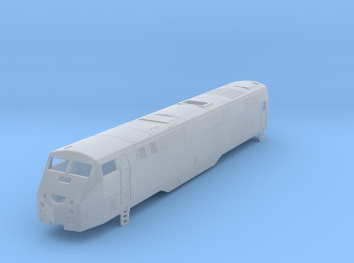 P32ac-dm Locomotive N Scale  in FXD  3d printed