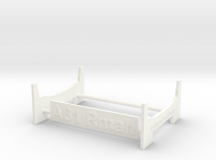 Rmah (A61), Display Stand 3d printed