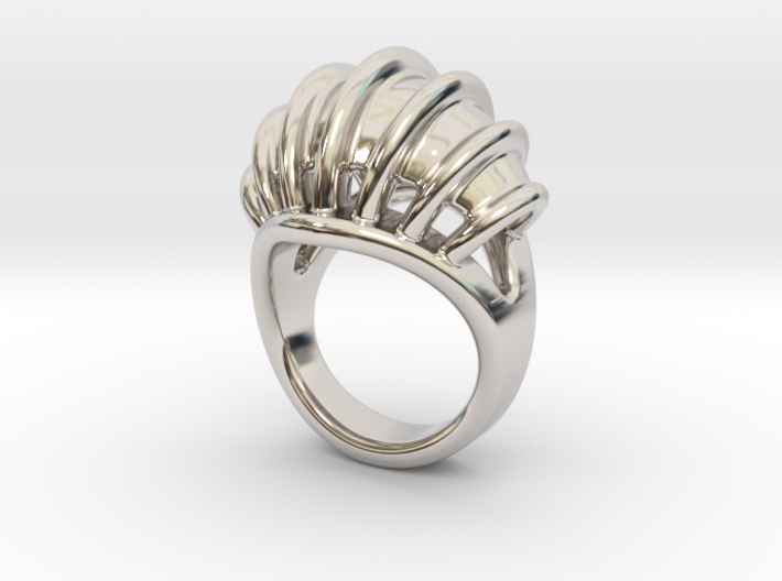 Ring New Way 22 - Italian Size 22 3d printed