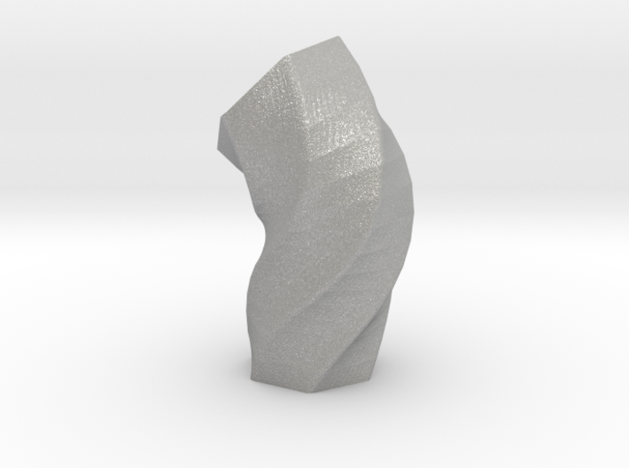 Melted Hexagon Vase 3d printed