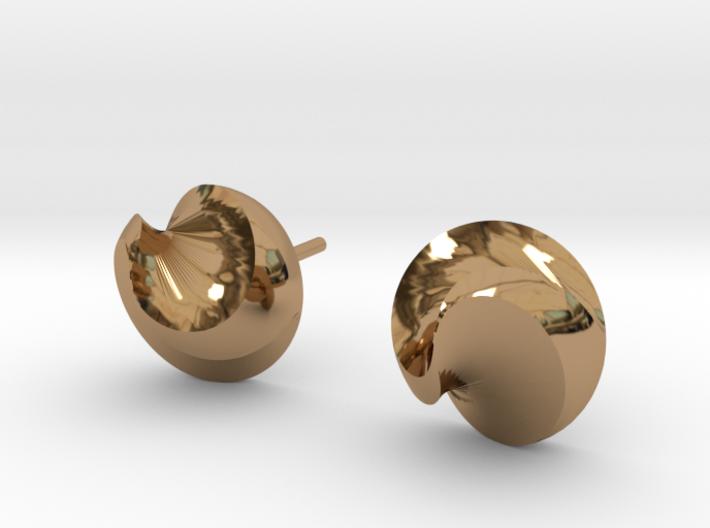 Swirl spike studs 3d printed