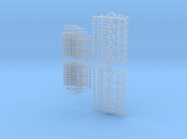 1-35 Handle Knob Set 3d printed
